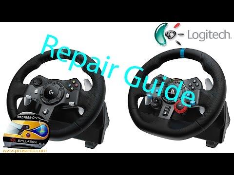 Logitech G29 Repair Guide Tutorial Youtube
