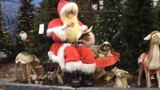 Shih Tzu Tobi Visiting Santa Claus - Merry Christmas (hd)