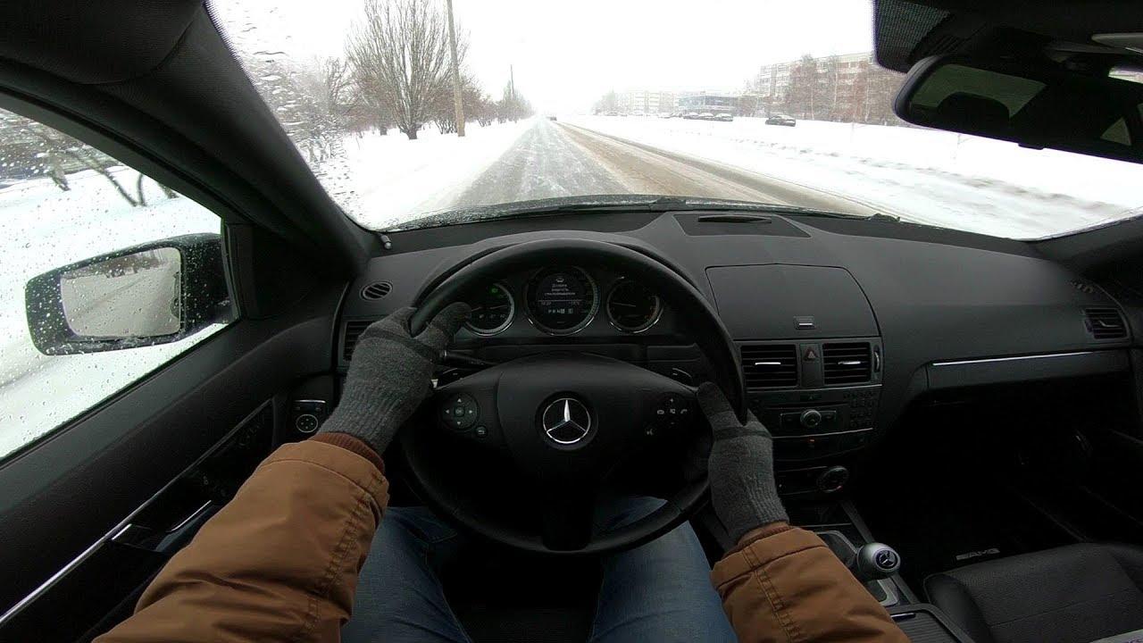 City Car Driving 2011 Mercedes-Benz C-класс 1.8L (156HP)