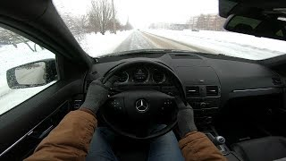 City Car Driving 2011 Mercedes-Benz C-класс 1.8L (156HP)