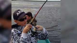 Рыбалка в Темрюке, видео
