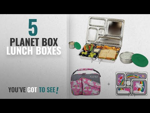 Best Lunch Boxes Planet Box [2018]: PlanetBox ROVER Eco-Friendly Stainless Steel Bento Lunch Box