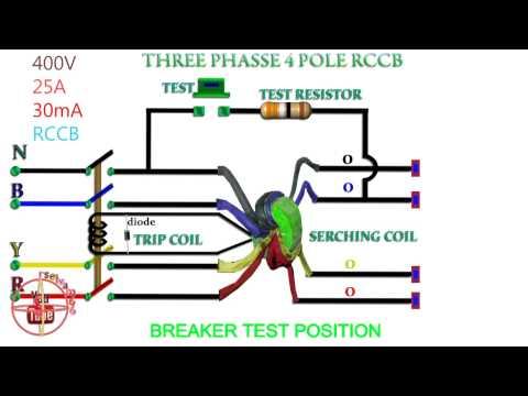 copeland compressor wiring diagram single phase wiring diagram single phase to phase 3 rccb working function three phase rccb 4 pole rccb working #5
