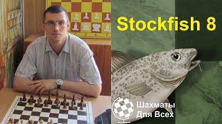 """Автор канала """"Шахматы Для Всех"""" против компьютерной программы Stockfish 8"""