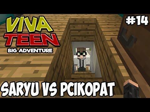 MINECRAFT VIVA TEEN #14 SARYU VS PCIKOPAT!!