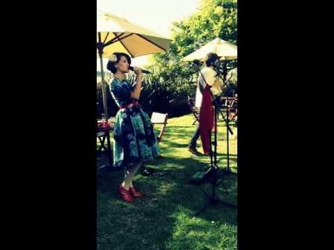 Maria Cardona a dúo con Juan Pablo Vega - Le Temps de l'Amour