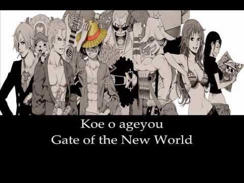 We Go! - One Piece (Karaoke)