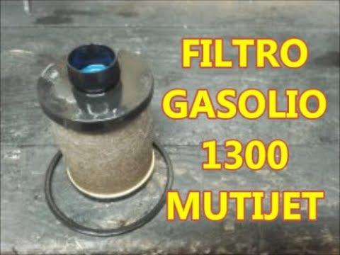 FILTRO DIESEL compatibile con FIAT PANDA (169_) 1.3 JTD ...