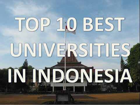 Top 10 Best Universities In Indonesia/Top 10 Universidades En Indonesia