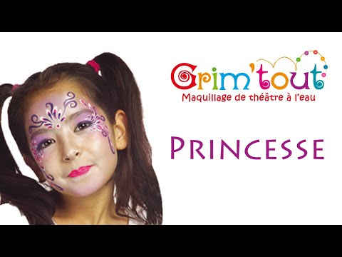 mod le maquillage enfant princesse youtube. Black Bedroom Furniture Sets. Home Design Ideas