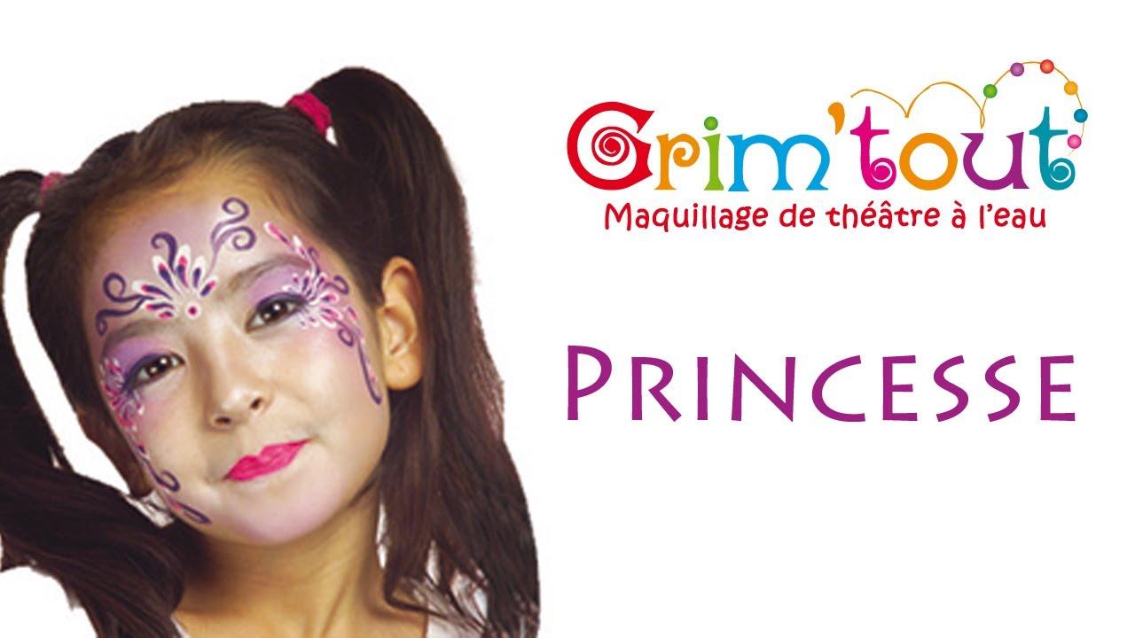 modele maquillage enfant princesse
