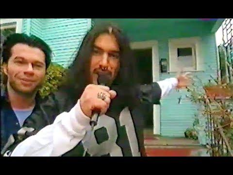 Machine Head - Home visit at Robb Flynn's house in Berkeley 03.1997 (TV)