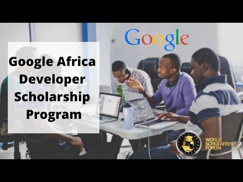 Google Africa Developer Scholarship Program 2021