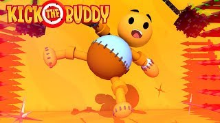 ROBLOX KICK THE BUDDY! QUEBRE O BONECO