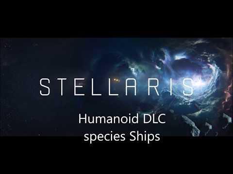 Stellaris Humanoid DLC ships