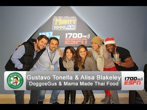 Gustavo Tonella on DoggosGus & Alisa Blakeley Mama Made Thai Food | Jesse's Secret Stash #11