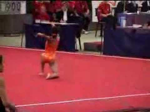 Dutch gymnastics 2004: Lou Len Lie FX