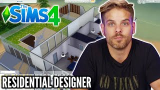 A Real Architect Builds A Mansion In The Sims 4 • Professionals Play