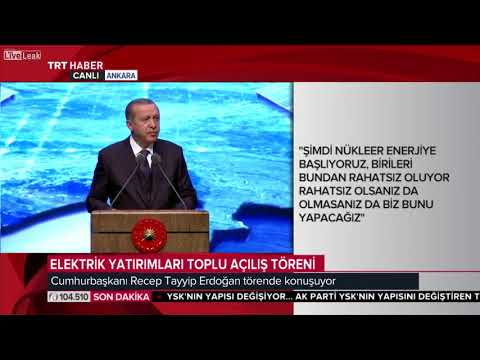 Turkey to develop nuclear energy soon