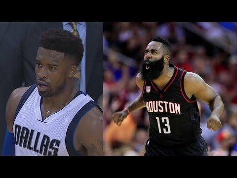 James Harden Plays Point Guard! Dallas Mavericks vs Houston Rockets