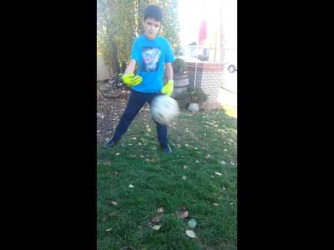 Adidas ace fingersave junior goalie gloves - YouTube d6f78b386142