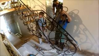 Кованая лестница без косоура. Часть 6(, 2016-08-08T19:15:23.000Z)