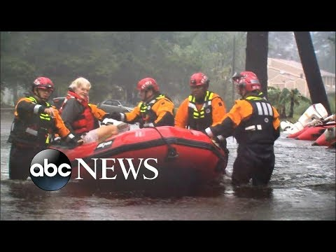 Death toll rises as Tropical Storm Florence moves further inland