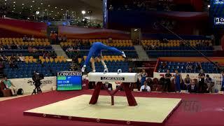 SARRUGERIO Marco (ITA) - 2018 Artistic Worlds, Doha (QAT) - Qualifications Pommel Horse