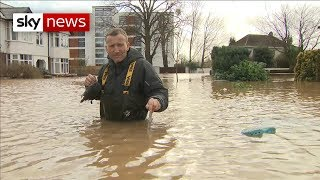 Severe weather warnings predict more floods