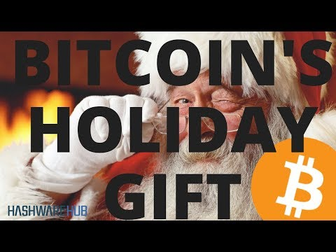 Bitcoin Holiday Gift - Large Sell Off - Sell or Hold - When Wll It End