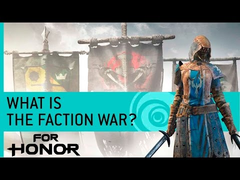 For Honor Features: What Is The Faction War?