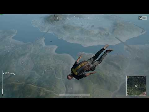 PlayerUnknown's BattleGrounds : ReLive recording test.