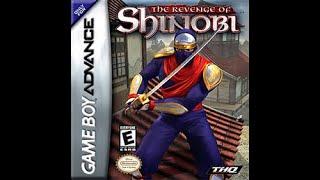 Game Boy Advance: The Revenge of Shinobi