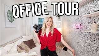 My NEW OFFICE TOUR! Before & After Transformation