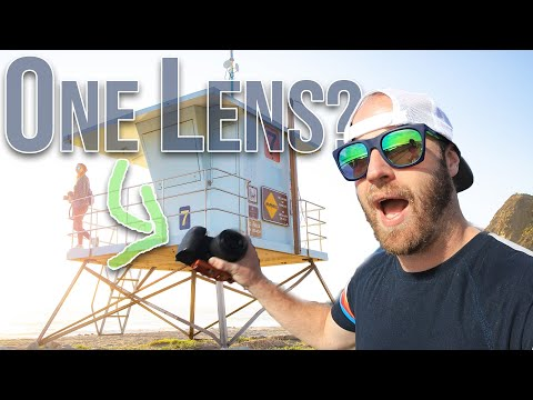 Travel Photography with ONLY a Fixed Prime Lens