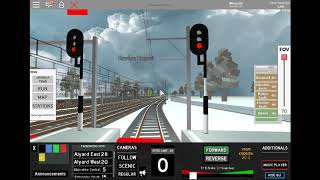 ROBLOX (Railways Terminal) test KRL JR FROM JAPAN NEW Part 7