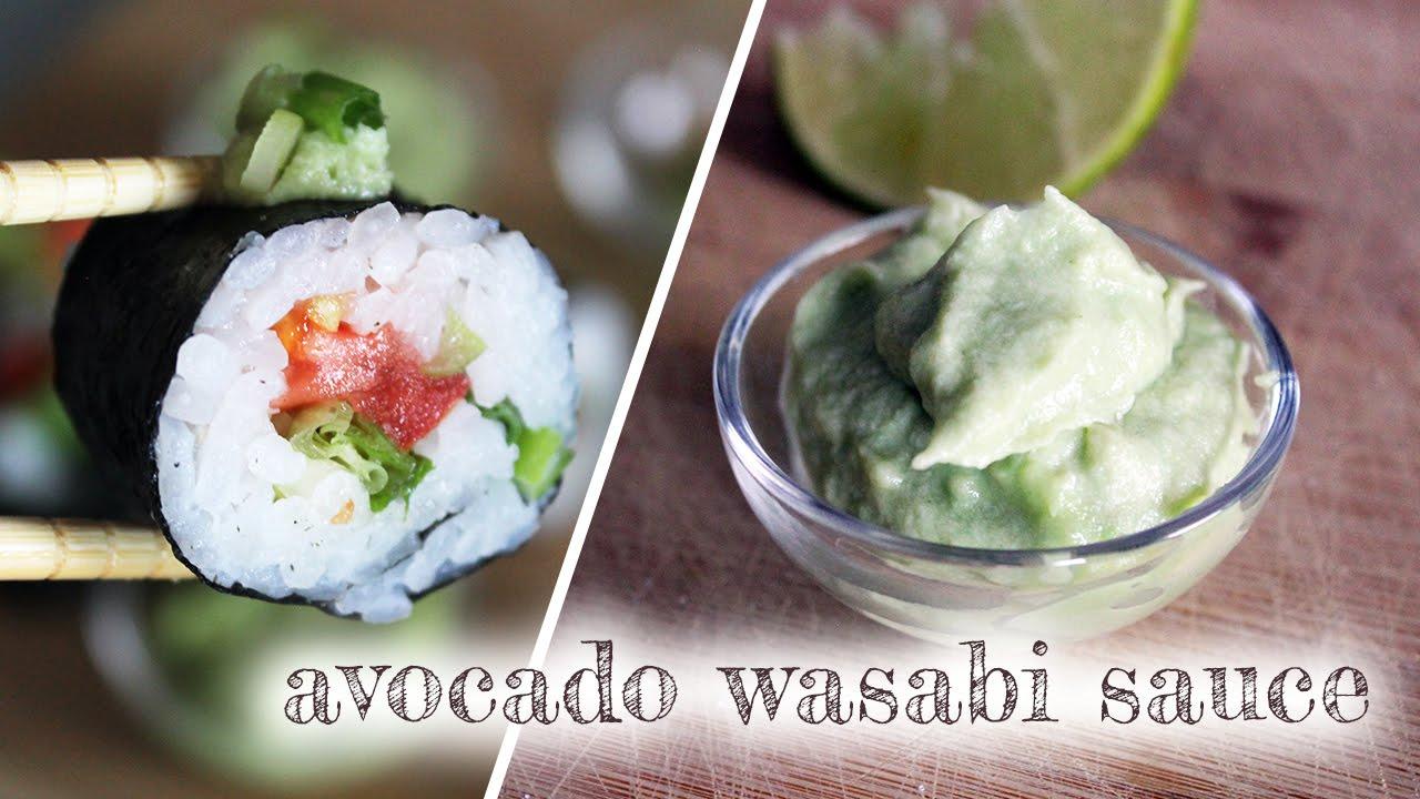 Creamy Avocado Wasabi Sauce