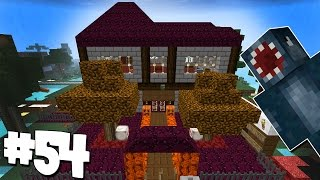 Minecraft - Attack Of The B Team - Halloween House! [54]