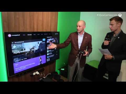 Gamescom 2015 - New Xbox Experience