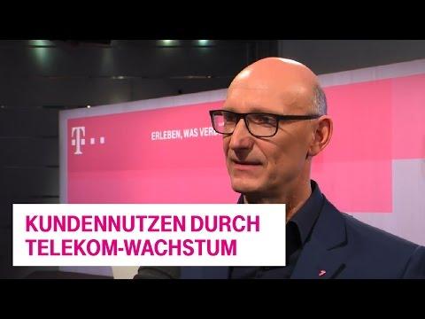 Social Media Post: Interview: Was haben die Kunden vom Wachstum der Telekom?