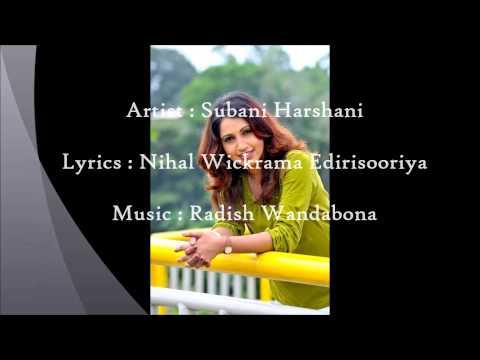 Subani Harshani adaren new song