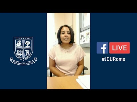 #JCURome Facebook Live: Trips, Activities & Clubs for Study Abroad Students
