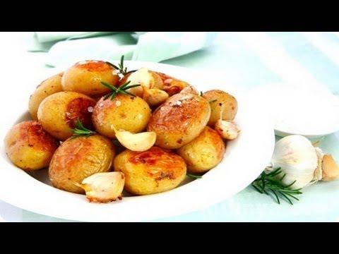 Как приготовить  молодой картофель жаренный.