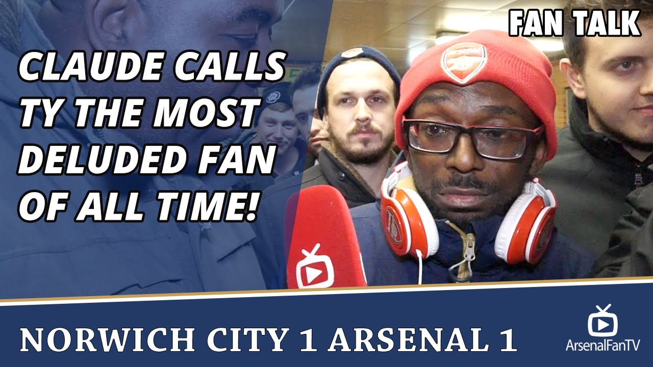 Claude Calls TY The Most Deluded Fan Of All Time ...