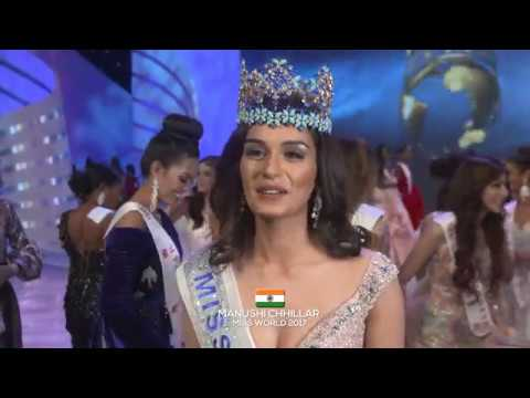 Miss World 2017 - Manushi Chhillar's First Interview
