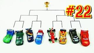 Cars 3 Toys Crazy 8 Demolition Derby Tournament vol 22  W.G.P Racer