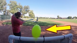 IT HIT THE BRAND NEW GoPro! Blitzball Wiffle Ball Game!