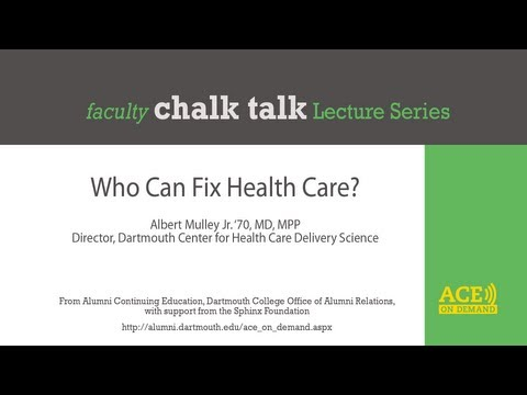 Who Can Fix Health Care?
