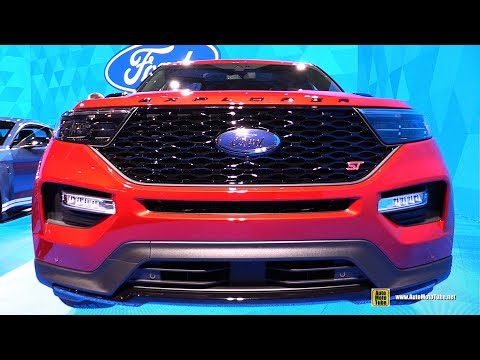 2020 Ford Explorer ST - Exterior and Interior Walkaround - 2019 Detroit Auto Show