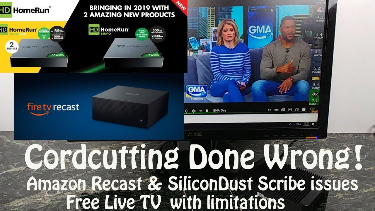 Silicon Dust Scribe, Servio & Amazon Recast Keep the cord attached